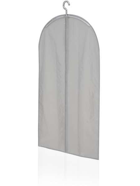 Kleiderhülle grau Leifheit 105cm x 60cm super Qualität transparente Vorderseite