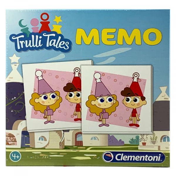 Clementoni Memory Trulli Tales mit 40 Paaren ab 4 Jahren Memo Spiel
