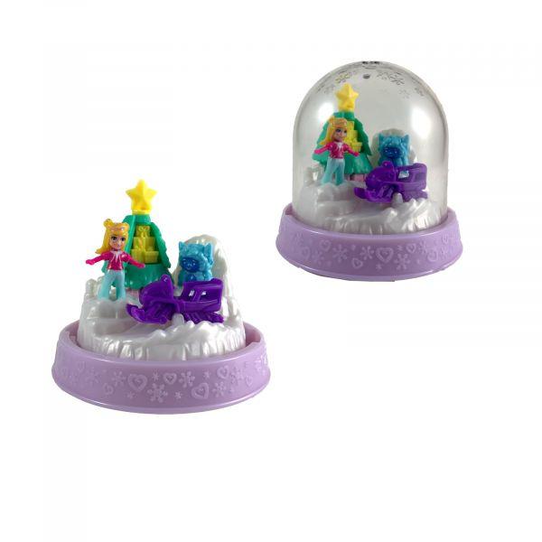 Polly-Pocket Mattel Mini - Kugel Polly Skidoo