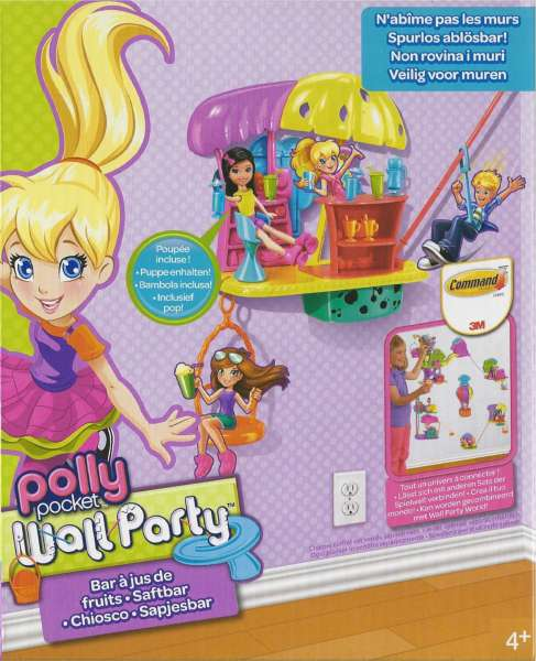 Polly Pocket Wall Party Y7117 - Saft Bar & Zubehör