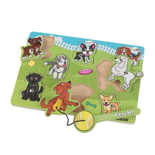 Magnetische Holz Puzzle Hundepark mit Angel von KidKraft