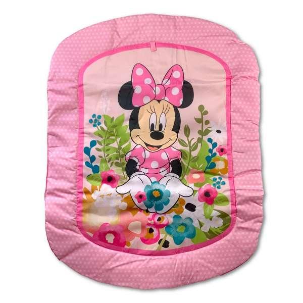 Bright Starts Minnie Mouse Spieldecke mit Stützkissen und Spielzeugen
