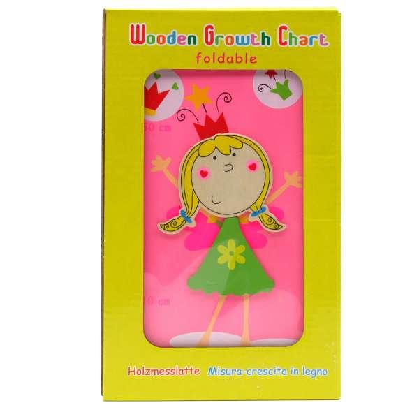 Faltbare Messlatte Elfen, Mädchen, 80 - 150 cm Kindermesslatte