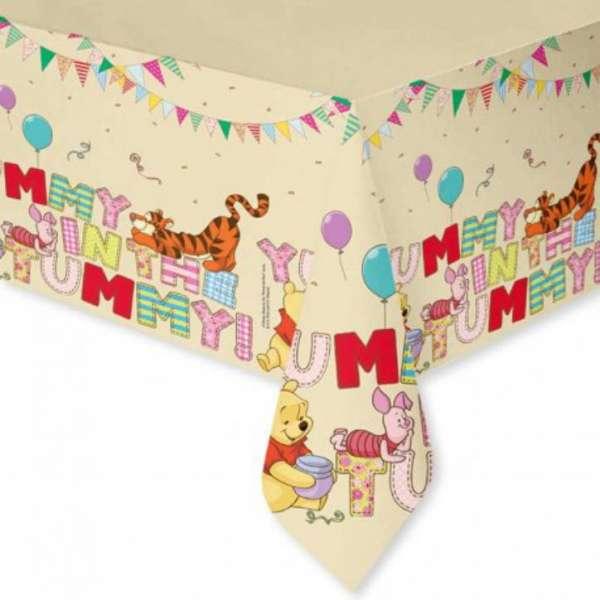 1 Tischdecke Winnie the Pooh für eine tolle Kinderparty