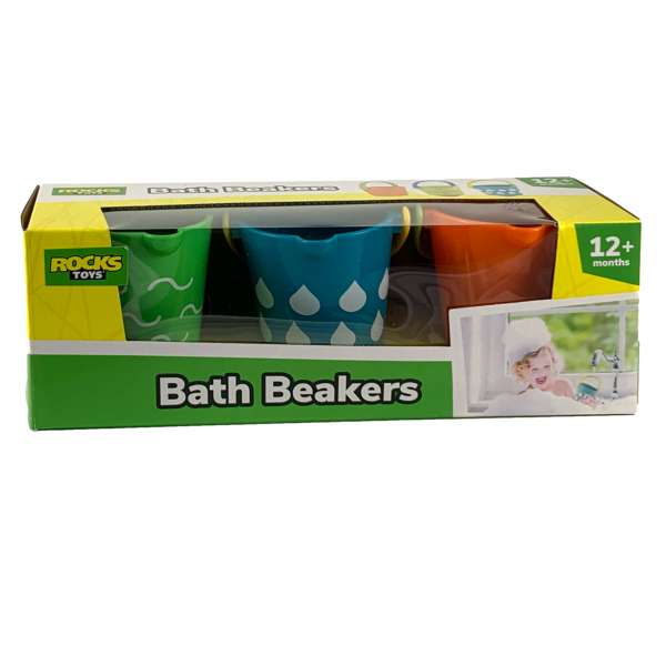 Badebecher Badespaß für die Badewanne, Strand und Planschbecken Badespielzeug