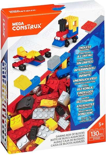 Mega Bloks Construx Bausteine-Set 3 (130 Teile) DYG85
