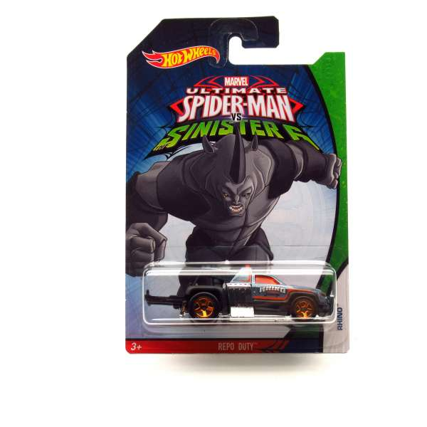 Hot Wheels Ultimate Spider-Man VS Sinister 6 - Repo Duty