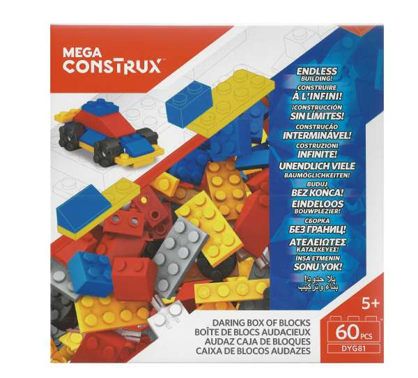 Mega Bloks Construx Bausteine-Set 6 (60 Teile) DYG81