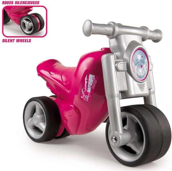 Smoby - Rutschauto Rutschmotorrad Rutscher Kindermotorrad Pink